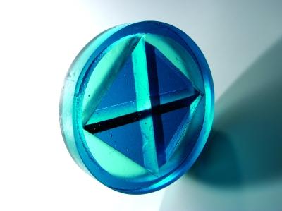 glass art Ice wheel