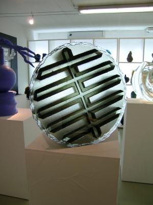 glass art Labyrinth-JCC gallery
