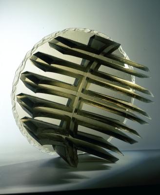 glass art Labyrinth-back