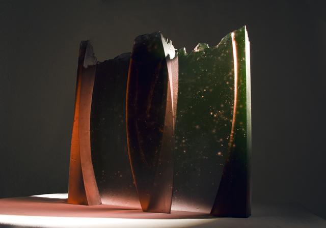 glass art Butterfly 2, 2009