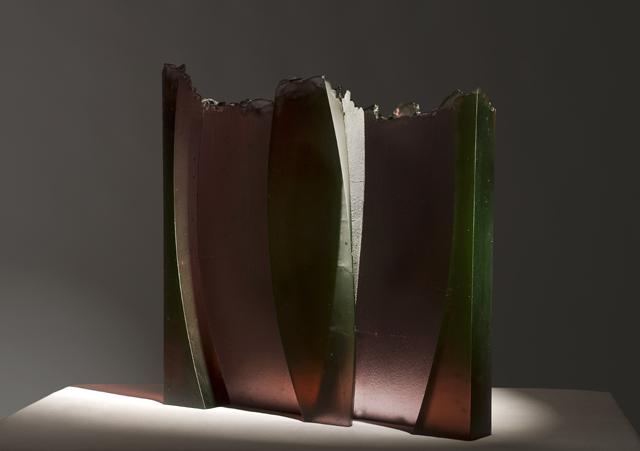 glass art Butterfly 1, 2009