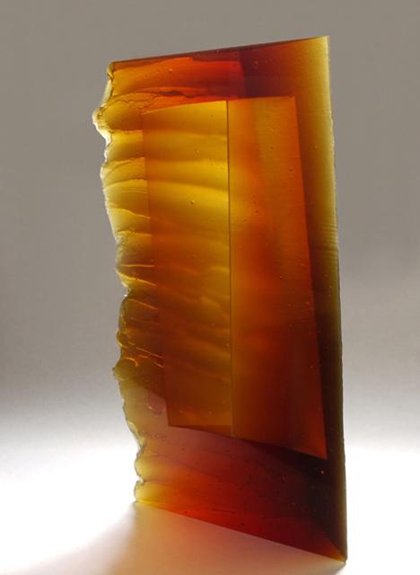glass art Crossing the Sea_A